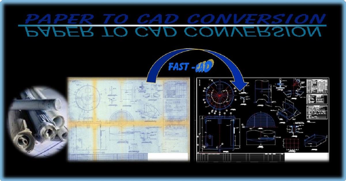 PDF a DWG, Digitalizacion de planos